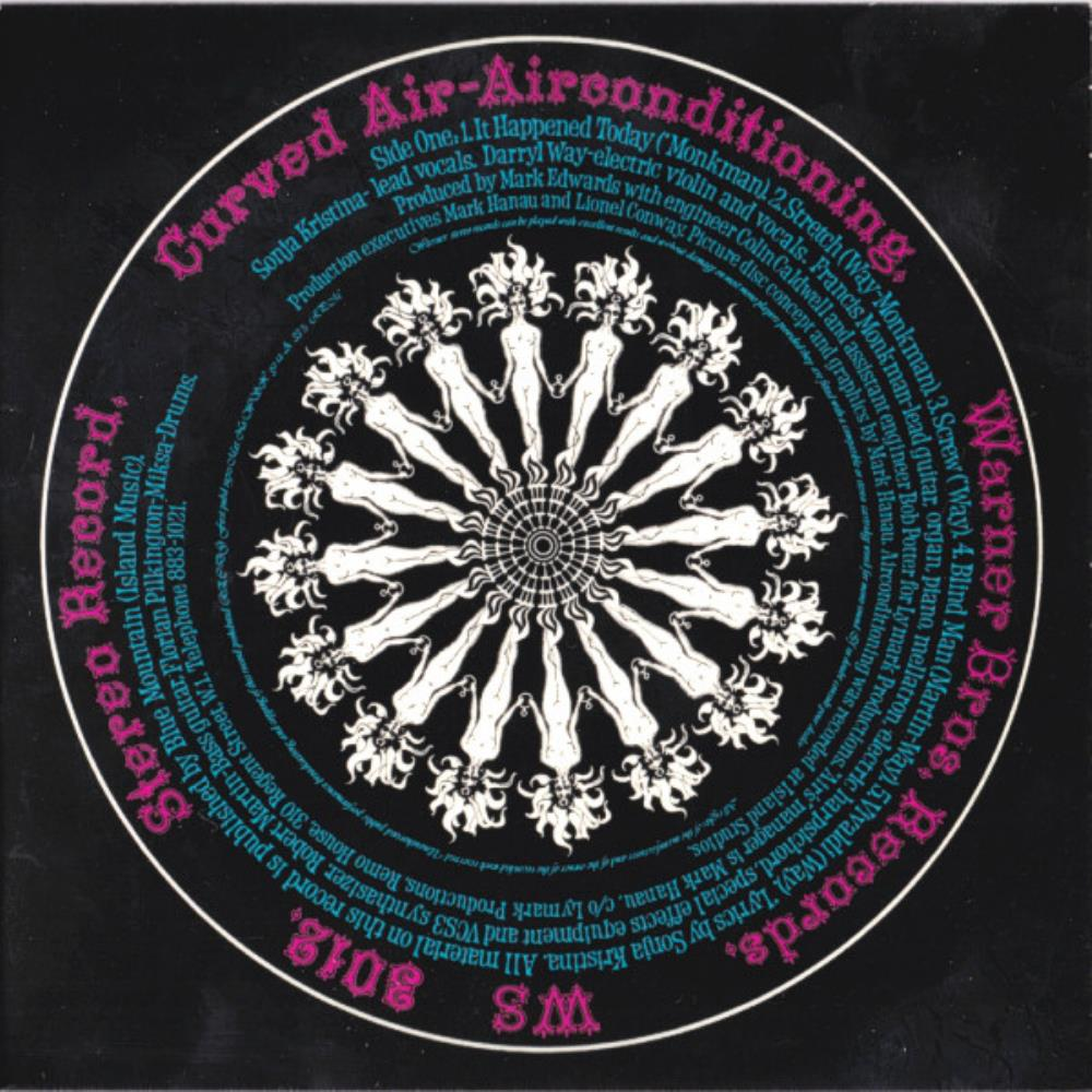 Airconditioning by CURVED AIR album cover