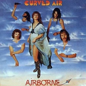 Curved Air - Airborne  CD (album) cover