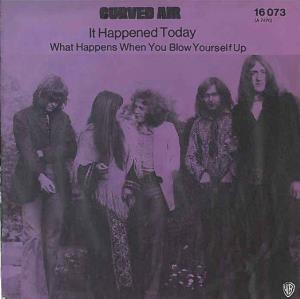Curved Air It Happened Today album cover