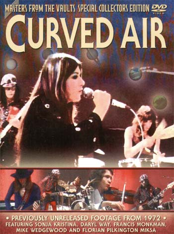 Curved Air - Masters From The Vaults: Curved Air CD (album) cover