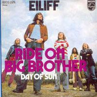 Eiliff Ride On Big Brother/Day Of Sun album cover