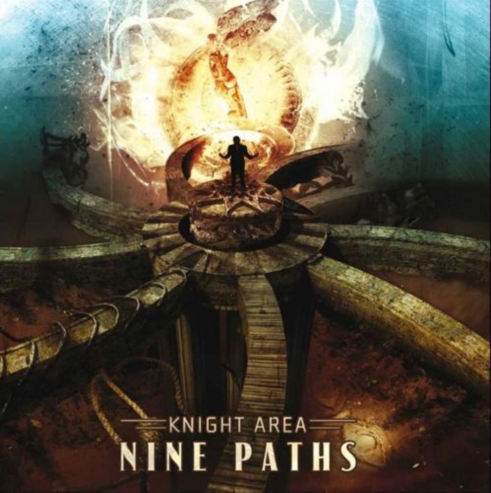 Knight Area - Nine Paths CD (album) cover