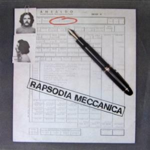 Francesco Currà - Rapsodia Meccanica CD (album) cover