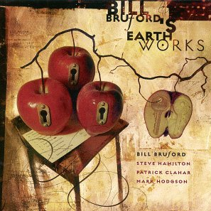 Bill Bruford's Earthworks A Part, And Yet Apart album cover