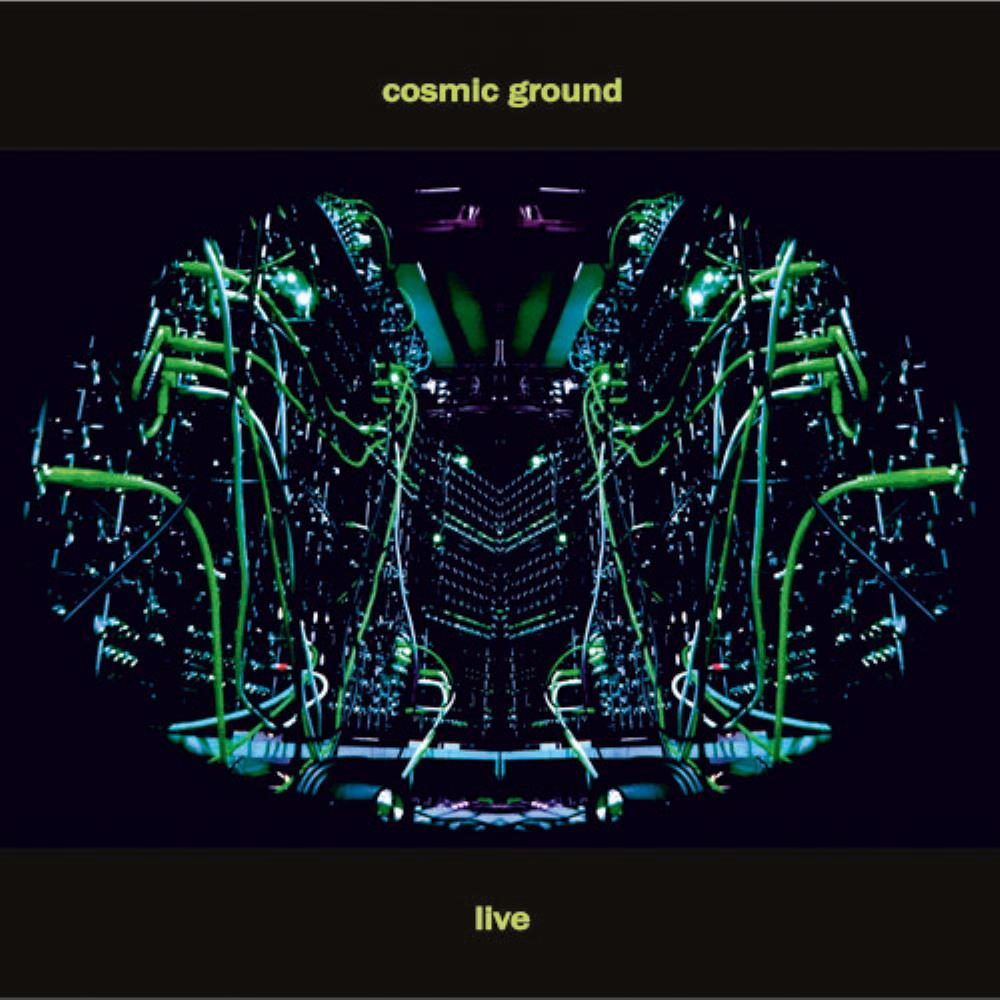 Cosmic Ground Live by COSMIC GROUND album cover