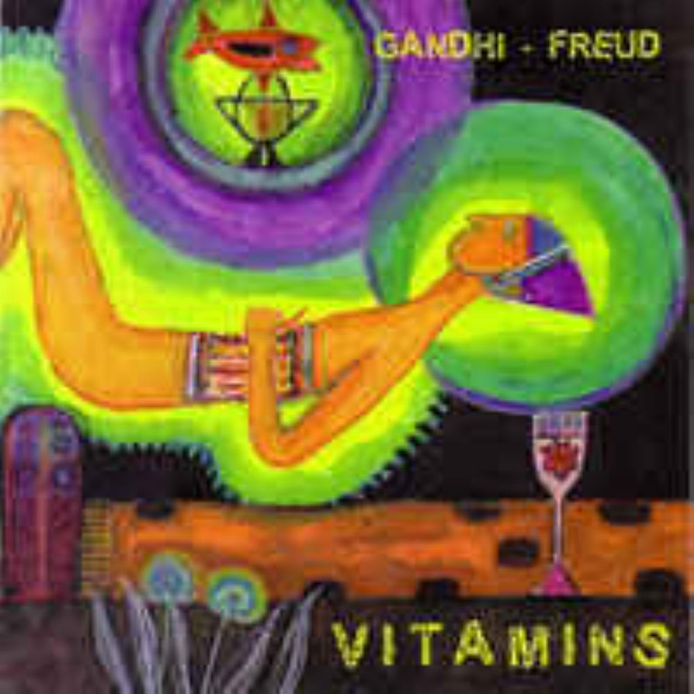 Pekka Airaksinen - Vitamins (Gandhi-Freud) CD (album) cover