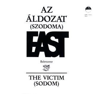 East - Az �ldozat (Szodoma) CD (album) cover