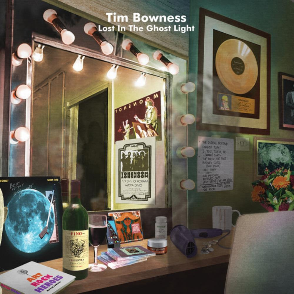 Tim Bowness Lost In The Ghost Light album cover
