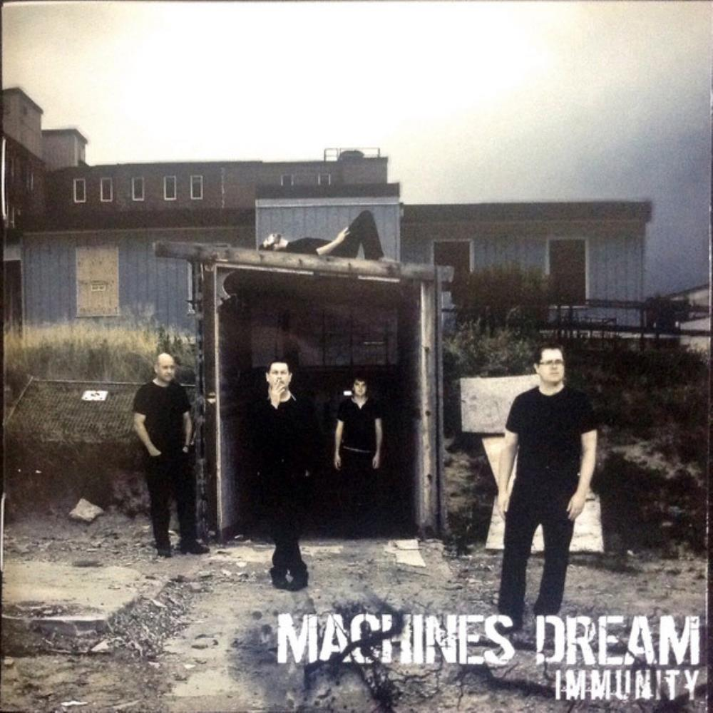 Machines Dream - Immunity CD (album) cover