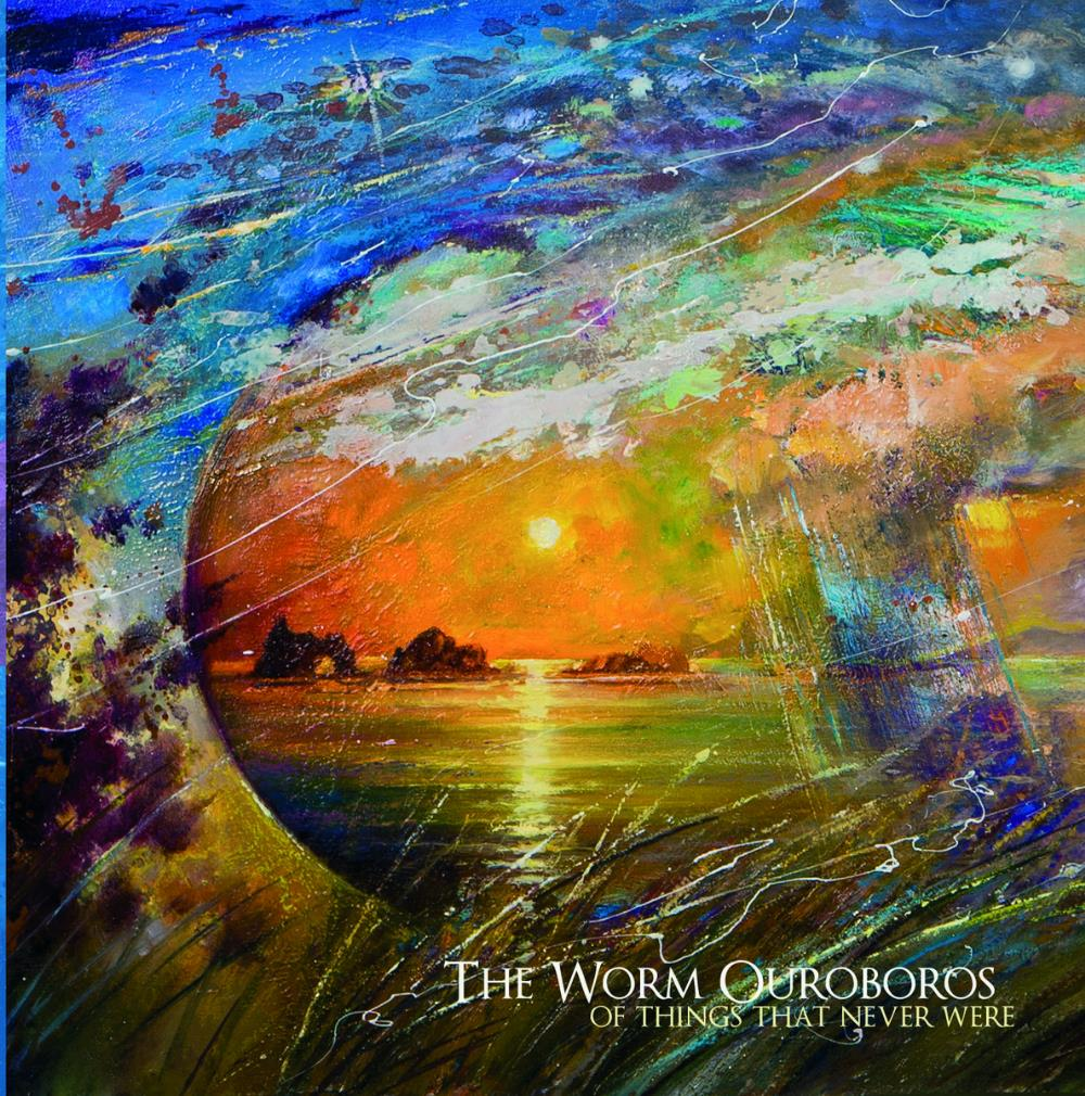 The Worm Ouroboros - Of Things That Never Were CD (album) cover