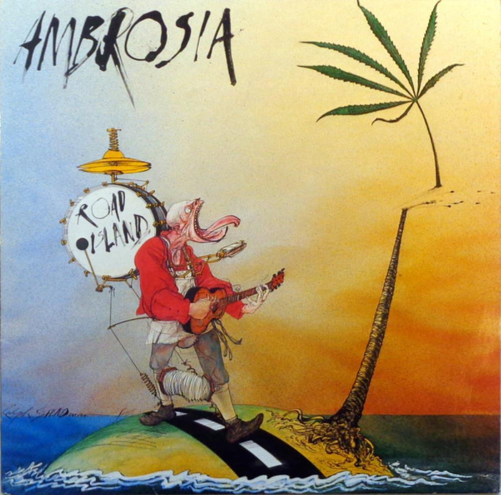 Road Island by AMBROSIA album cover
