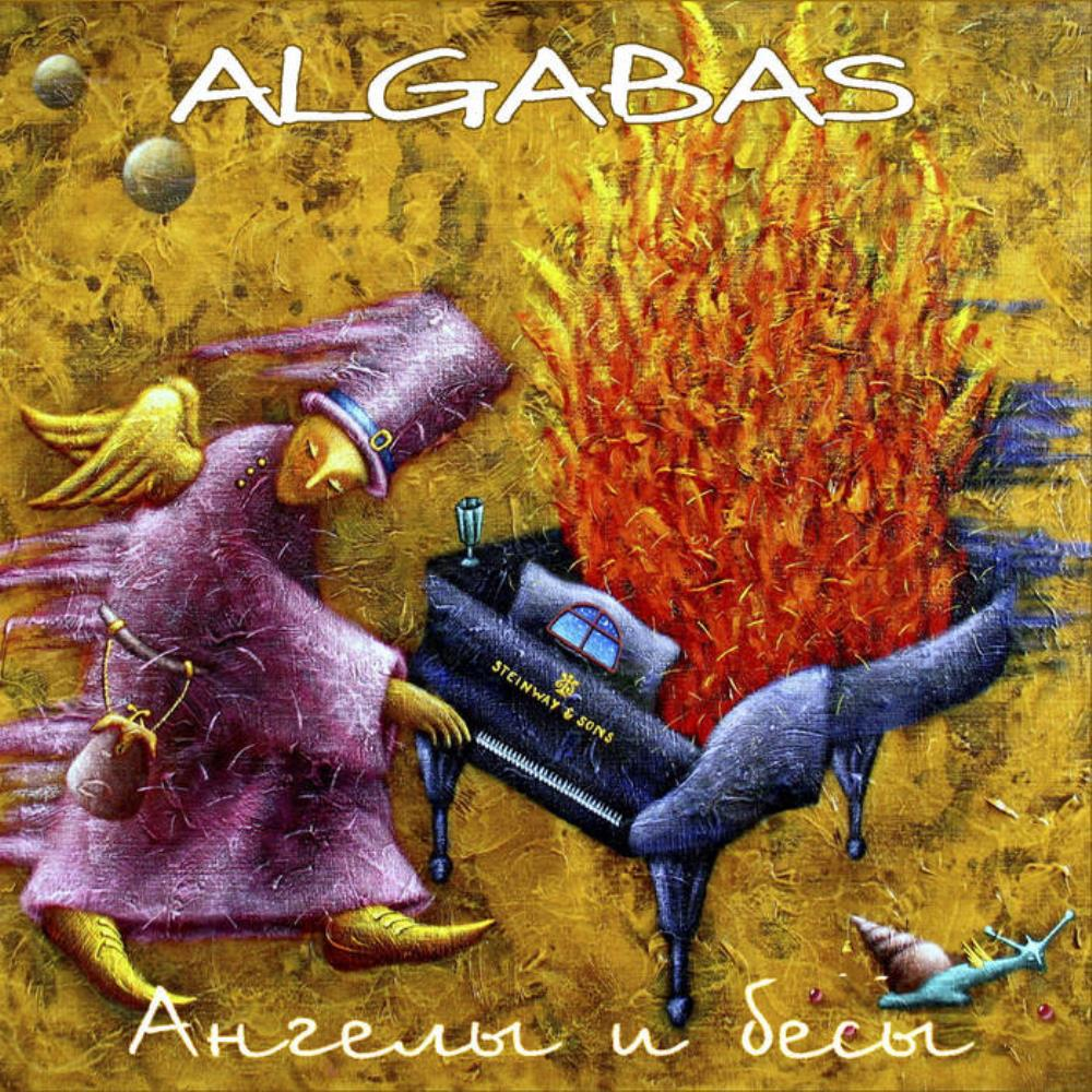 Angels and Demons by ALGABAS album cover