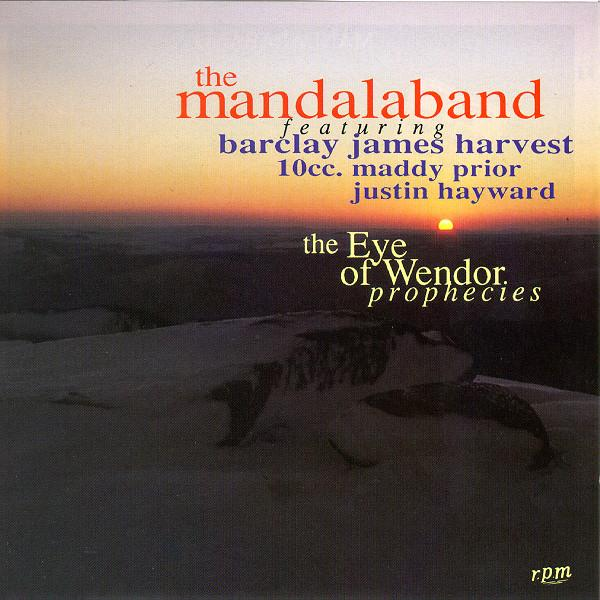 Mandalaband II - The Eye of Wendor: Prophecies by MANDALABAND album cover