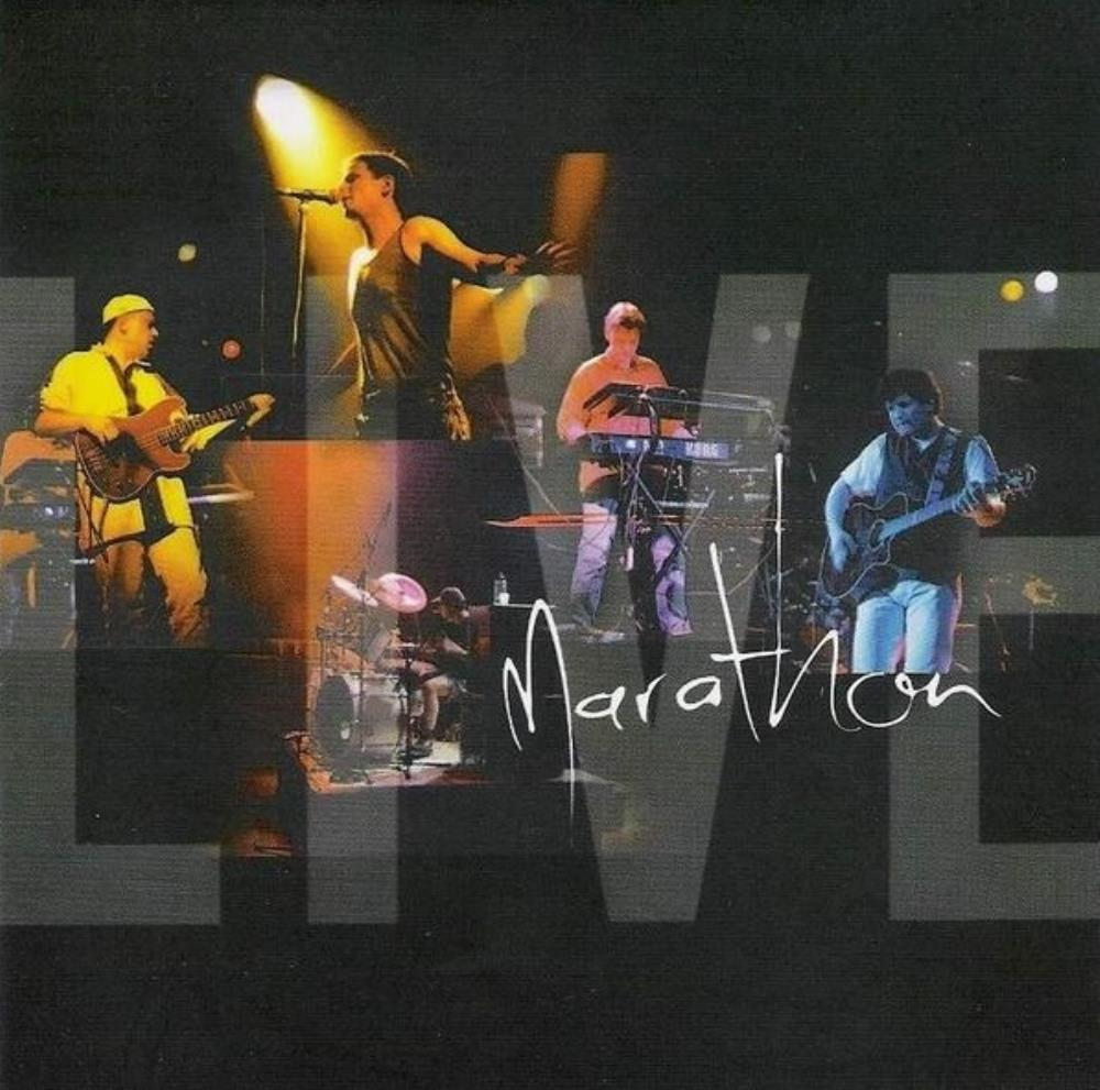 Marathon Live  by MARATHON album cover