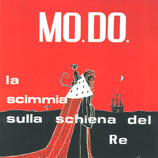MO.DO. - La Scimmia Sulla Schiena Del Re CD (album) cover