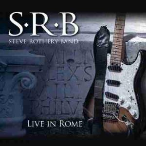 Live In Rome by Rothery, Steve album rcover
