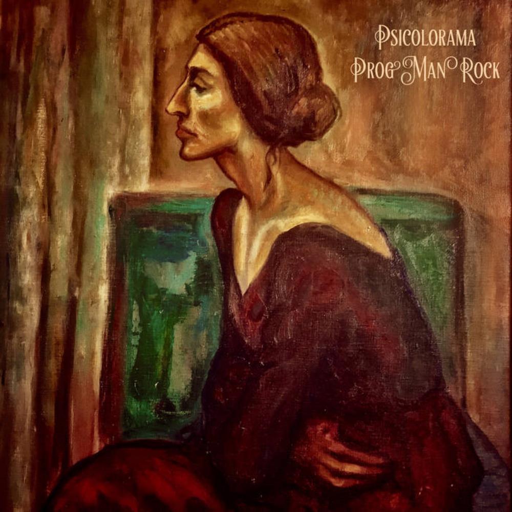 Prog Man Rock by PSICOLORAMA album cover