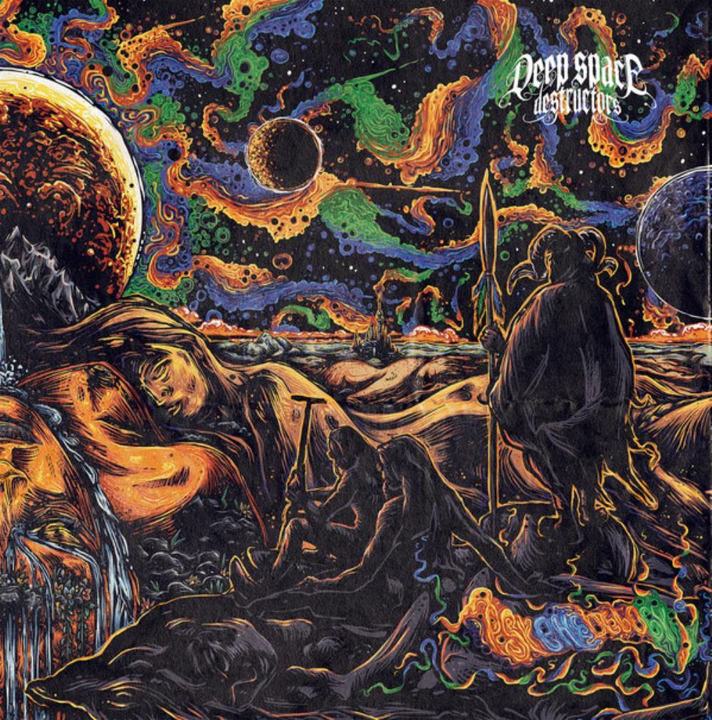 Psychedelogy by DEEP SPACE DESTRUCTORS album cover