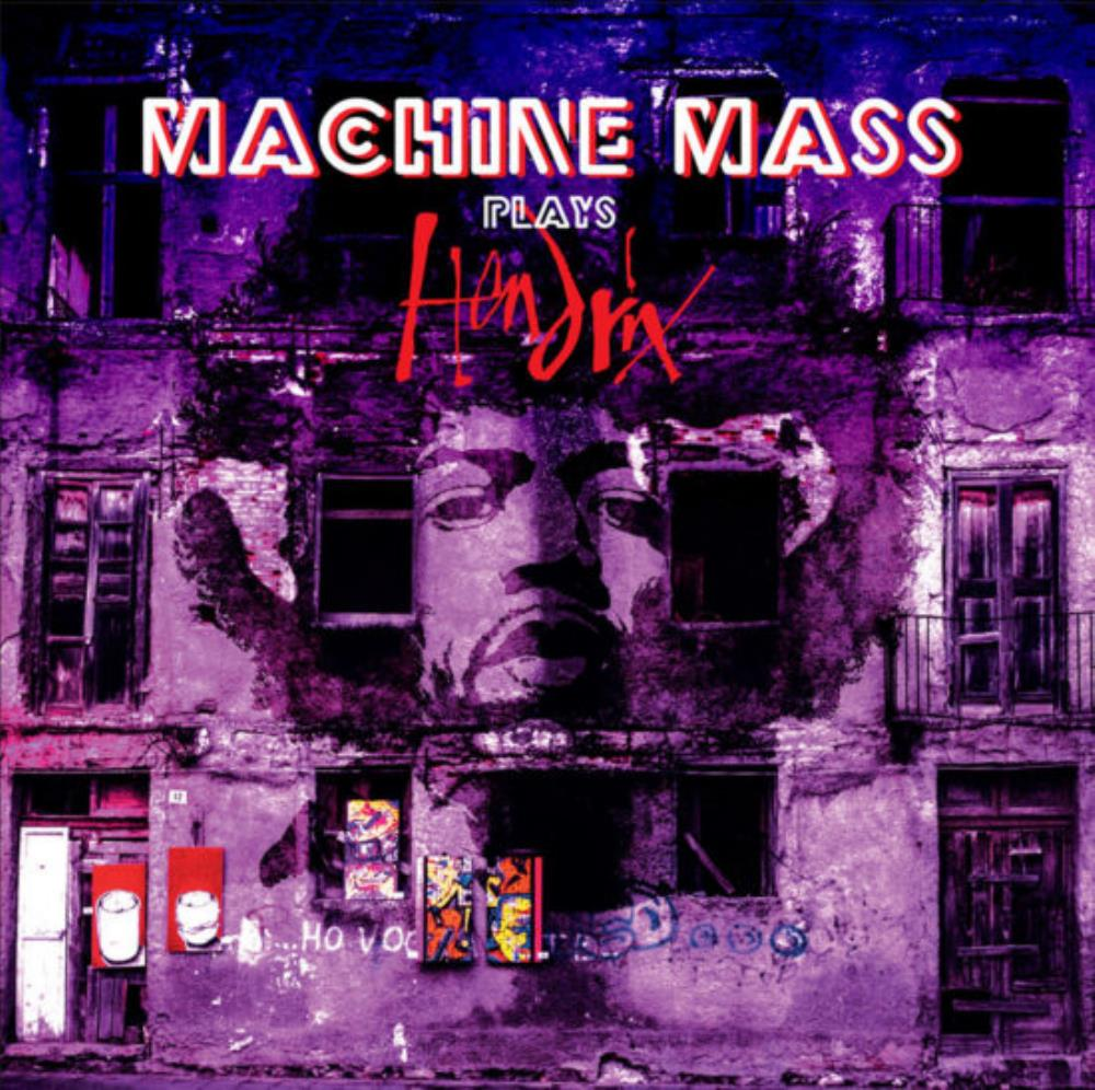 Machine Mass Plays Hendrix album cover