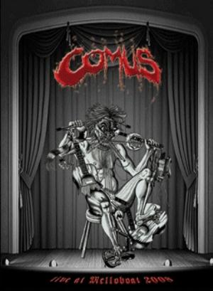 Comus Live At The Melloboat 2008 album cover