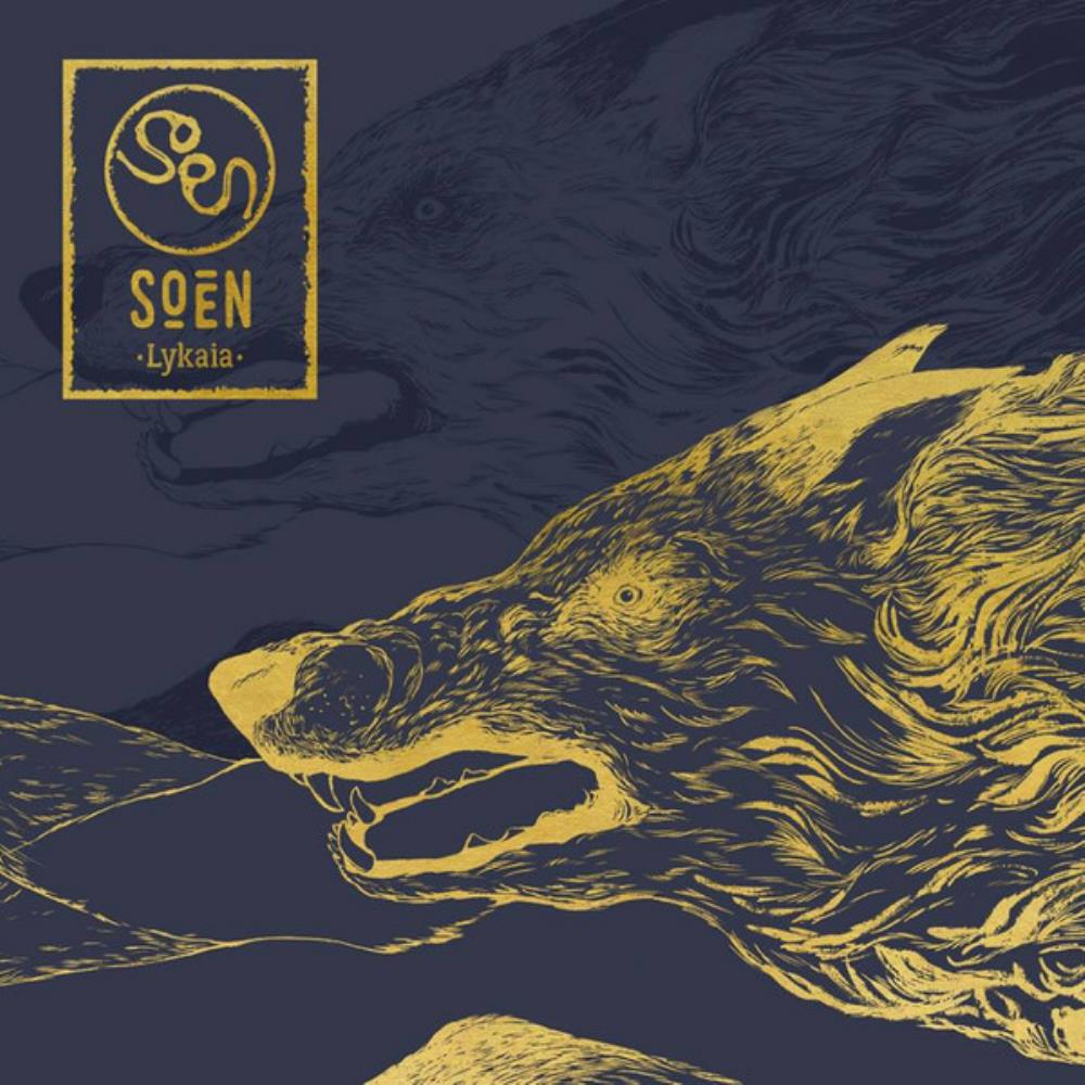 Lykaia by SOEN album cover