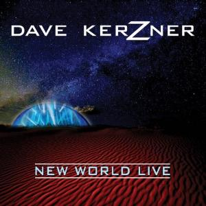 New World Live by KERZNER, DAVE album cover