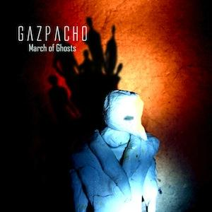 Gazpacho March of Ghosts album cover
