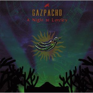 Gazpacho - A Night At Loreley CD (album) cover
