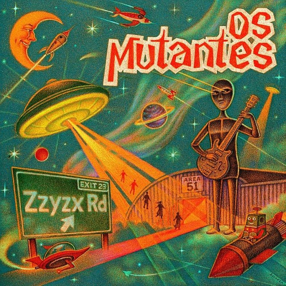 Zzyzx by MUTANTES, OS album cover