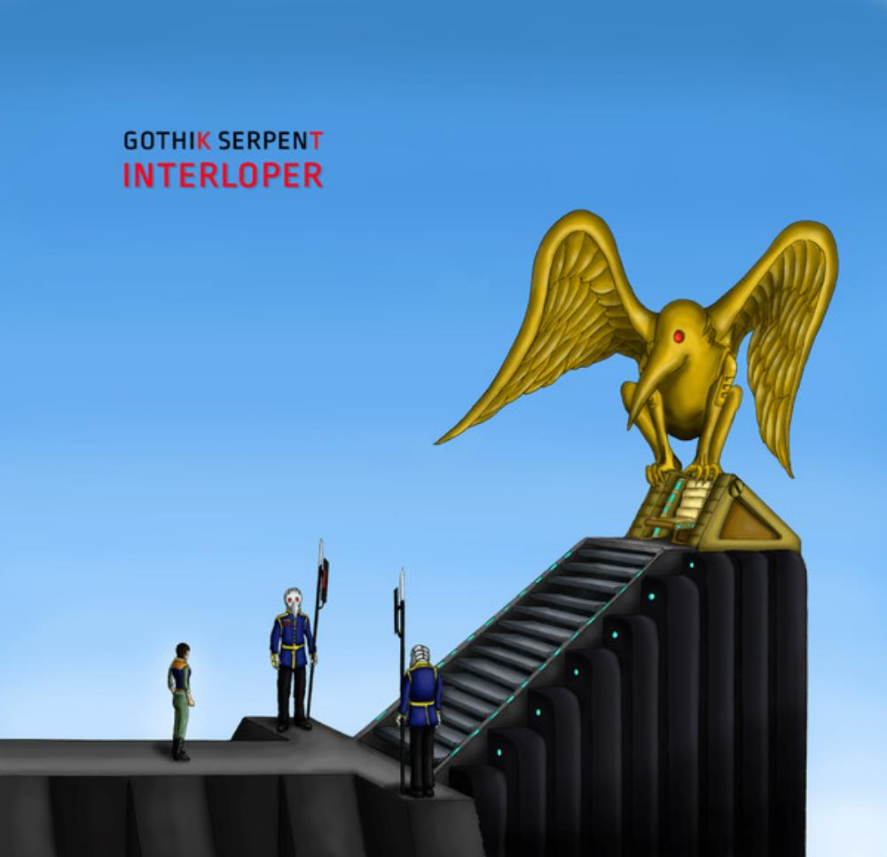 Interloper by GOTHIK SERPENT album cover