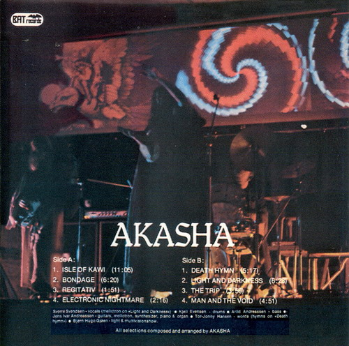 Akasha - Akasha CD (album) cover