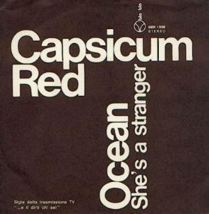 Ocean/ She's A Stranger by CAPSICUM RED album cover