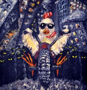 Pribeh Kurete by SAMANOVO ZBOZI album cover