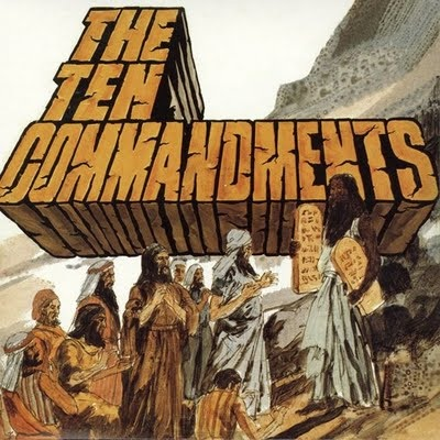 Ten Commandments by SALAMANDER album cover