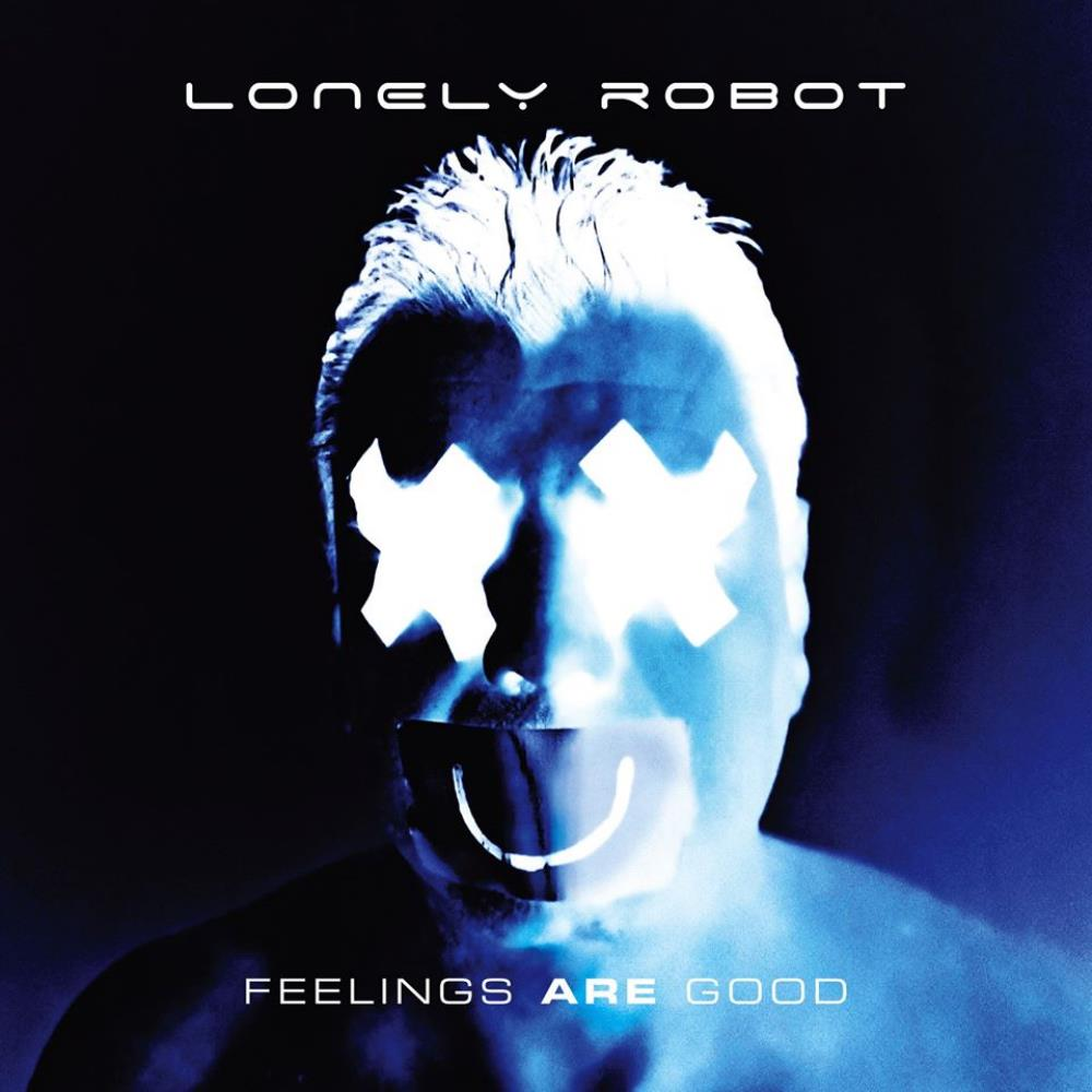 Feelings Are Good by LONELY ROBOT album cover