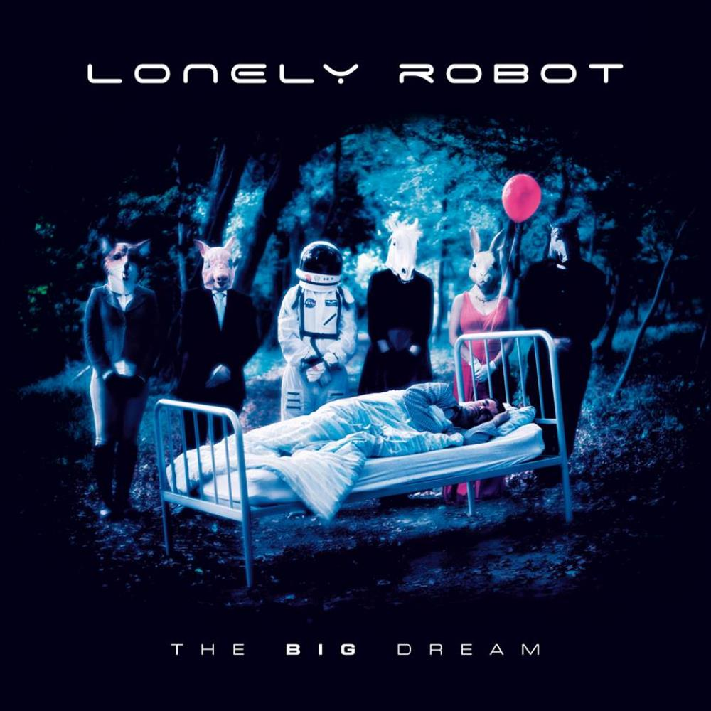 The Big Dream by LONELY ROBOT album cover