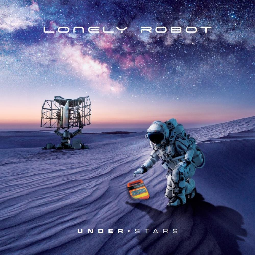 Under Stars by LONELY ROBOT album cover