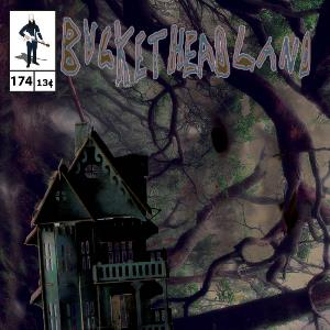 Buckethead Last House on Slunk Street album cover