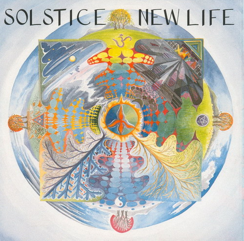 New Life by SOLSTICE album cover