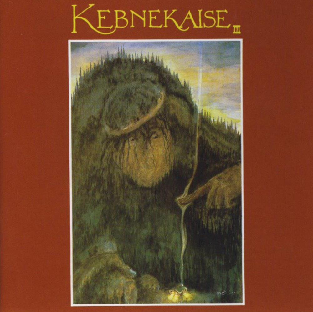 Kebnekajse - Kebnekaise III CD (album) cover