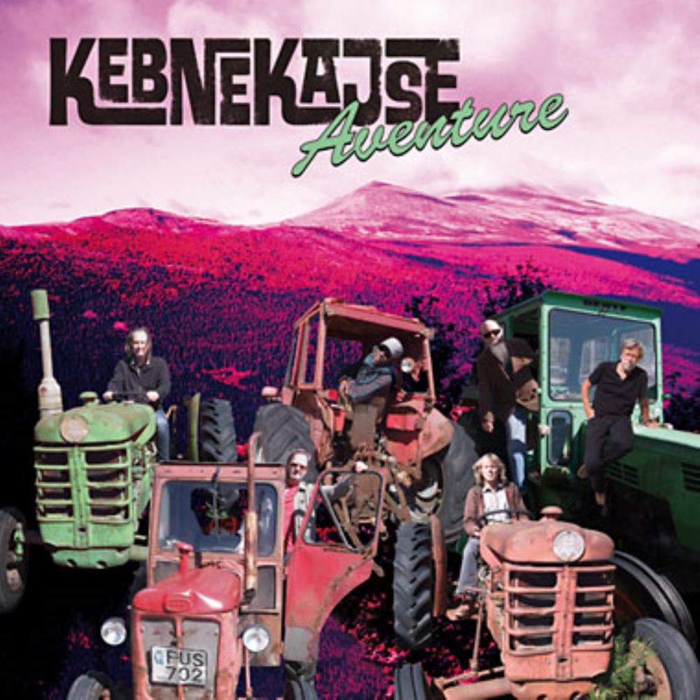 Kebnekajse - Aventure CD (album) cover