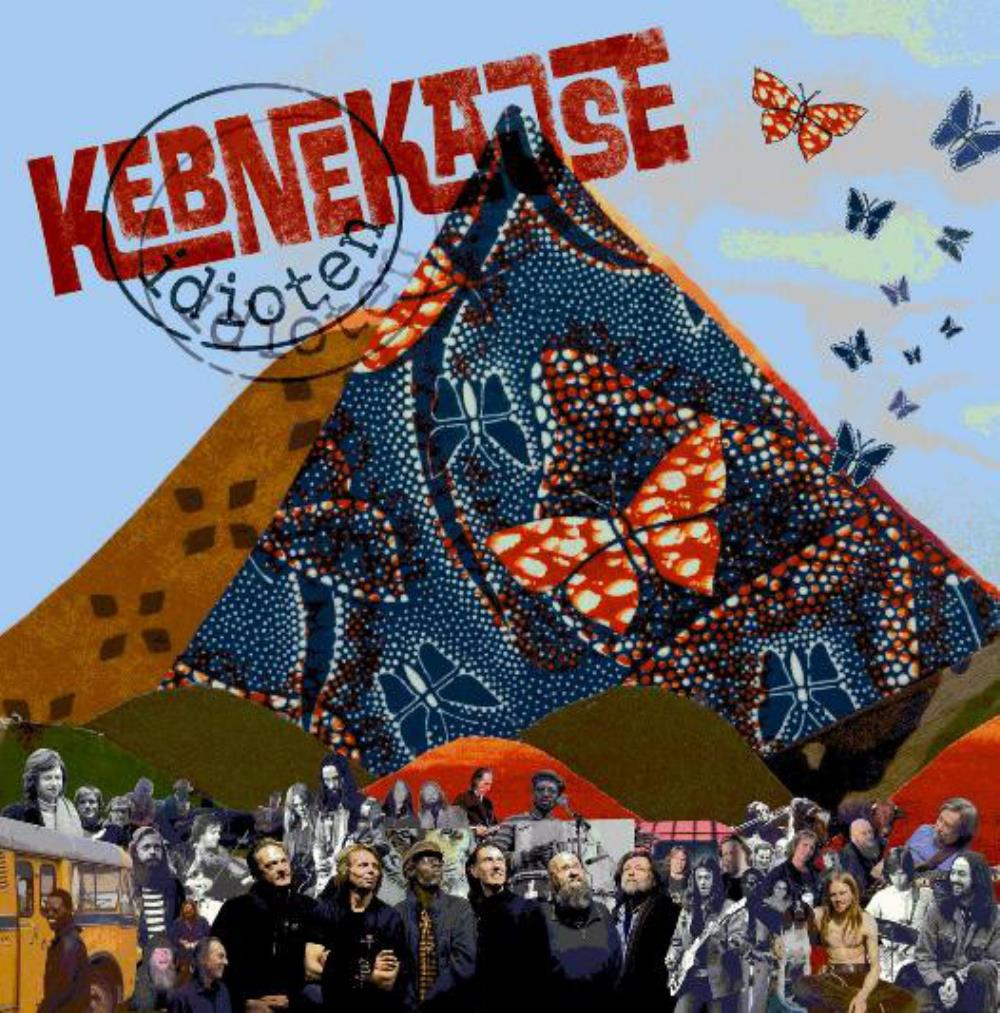 Kebnekajse - Idioten CD (album) cover
