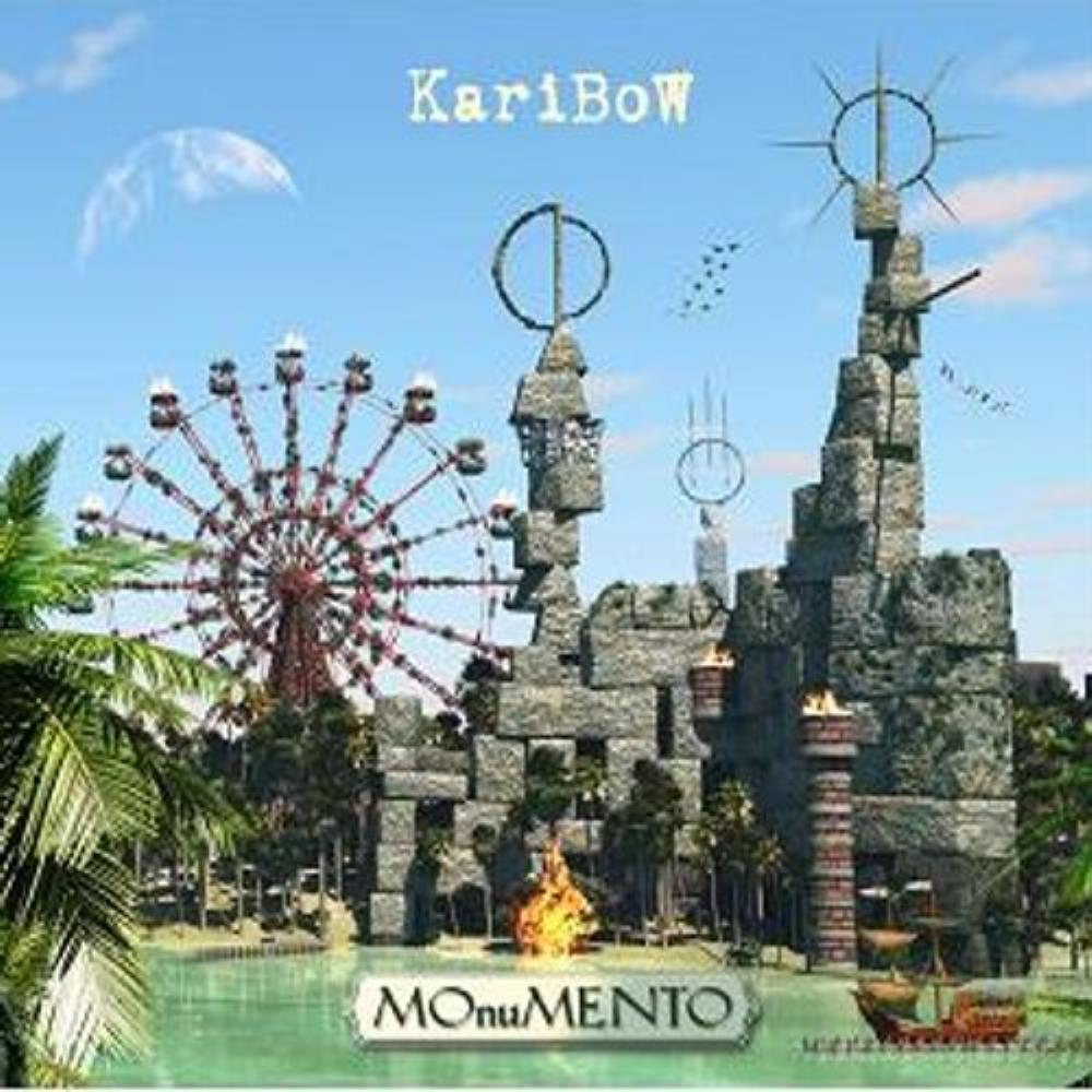 Karibow - MOnuMENTO CD (album) cover