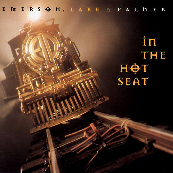 Emerson Lake & Palmer - In The Hot Seat  CD (album) cover