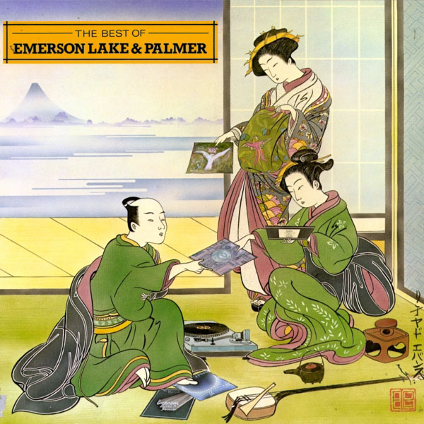 Emerson Lake & Palmer - The Best of Emerson, Lake & Palmer  CD (album) cover