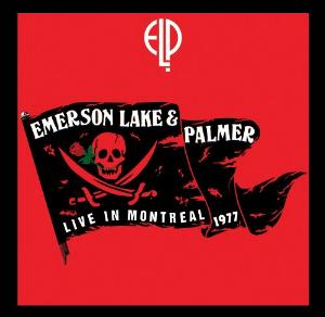 Live in Montreal 1977 by EMERSON LAKE & PALMER album cover
