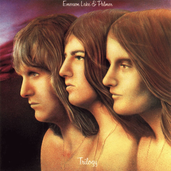 Emerson Lake & Palmer - Trilogy CD (album) cover