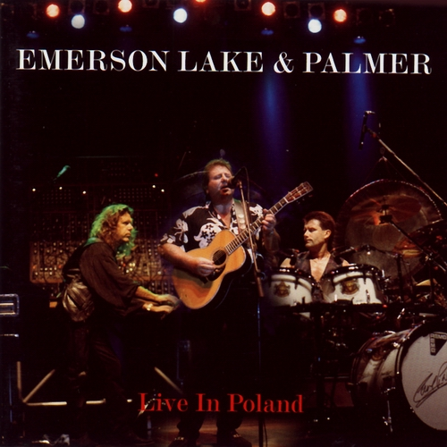 Emerson Lake & Palmer - Live in Poland CD (album) cover