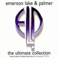 Emerson Lake & Palmer - The Ultimate Collection CD (album) cover