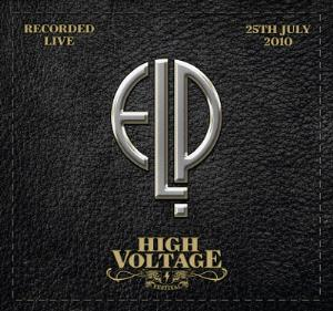 Emerson Lake & Palmer Live at High Voltage 2010 album cover